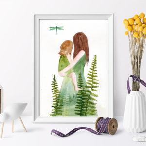 Mama – ilustracja