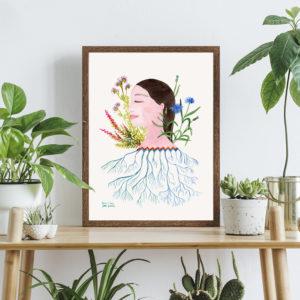 Kobieta – ilustracja