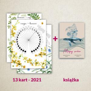 """Zestaw Kalendarz 2021 A3 + """"Mapy snów"""" (książka)"""